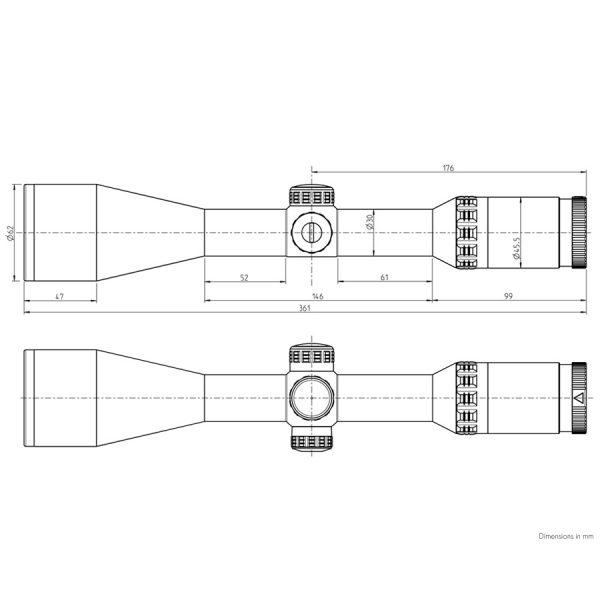 luneta vanatoare kahles helia elite hunting optica vanatoare