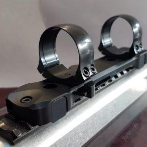 Montura rapida Henneberger Swift 30 mm cu sina pentru Merkel Helix/sina Picatinny inaltime 12.3 mm elite hunting